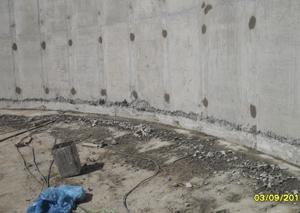 Impermeabilização de Reservatório com Masterpur - Fotos